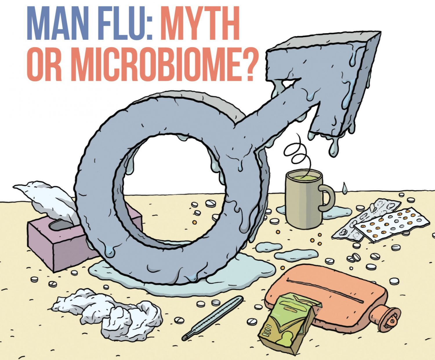 Man Flu: Myth or Microbiome?