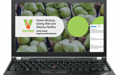 Nutrition Webinars for Home Workers